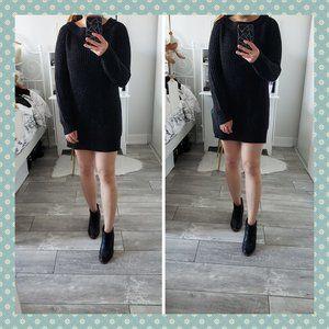 Joe Fresh Black Sweater Dress